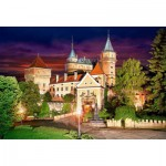 Puzzle  Castorland-103393 Bojnice Castle at Night