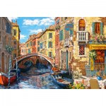 Puzzle  Castorland-103683 Reflections of Venice