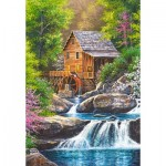 Puzzle  Castorland-104055 Spring Mill