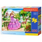 Puzzle  Castorland-111091 Princess in the Royal Garden