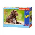 Puzzle  Castorland-13326 Big and Little