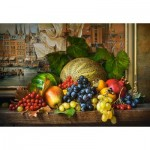 Puzzle  Castorland-151868 Still Life with Fruits