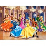 Puzzle  Castorland-222018 Princess Ball
