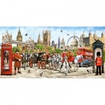 Puzzle  Castorland-400300 Pride of London