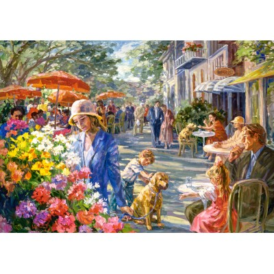 Puzzle Castorland-53438 Street of Dreams