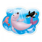 Puzzle  Castorland-B-015139 Life under the Arctic Ice