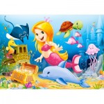 Puzzle  Castorland-B-06854 Little Mermaid
