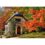 Puzzle   Gothic House in Autumn