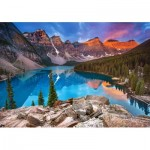 Puzzle   Sunrise at Moraine Lake, Kanada