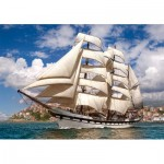 Puzzle   Tall Ship Leaving Harbour