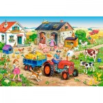 Puzzle   XXL Teile - Life on the Farm