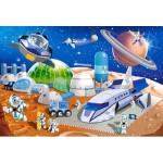 Puzzle   XXL Teile - Space Station
