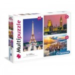 3 Puzzles - Cities