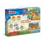 Puzzle  Clementoni-13390 4 in 1 - The Lion Guard