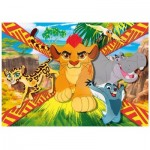 Puzzle  Clementoni-23978 XXL Teile - The Lion Guard