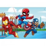 Puzzle  Clementoni-25257 Marvel Super Hero - 3x48
