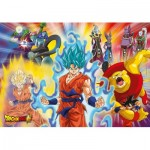 Puzzle  Clementoni-29761 Supercolor Dragon Ball