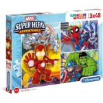 3 Puzzles - Marvel Super Heroes (3x48)