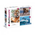 3 Puzzles - Tiere