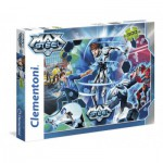 Puzzle  Clementoni-30452 Go Turbo Flight Max Steel