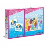 Puzzle Disney Princess + Memo