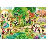 Puzzle   XXL Teile - Zoo