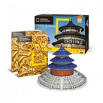 Cubic-Fun-DS0975h 3D Puzzle - National Geographic - Himmelstempel- Schwierigkeit: 6/8