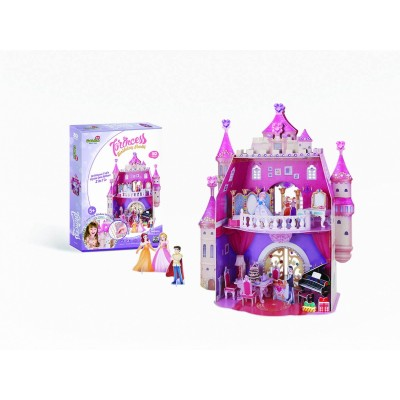 Cubic-Fun-E1622H 3D Puzzle - Princess Birthday Party