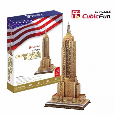 Cubic-Fun-MC048H Puzzle 3D - Empire State Building, New York, USA