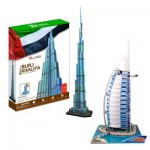 Cubic-Fun-Set-Dubai 2 3D Puzzles - Set Dubai