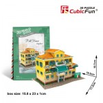 Cubic-Fun-W3113H 3D Puzzle World Style - Welcome to Italy