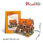 Cubic-Fun-W3125h 3D Puzzle World Style - Welcome to Germany