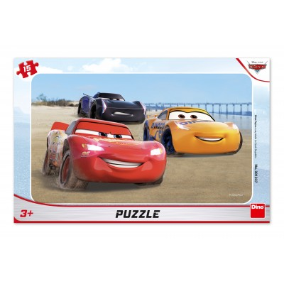 Dino-30133 Frame Puzzle - Cars Racing