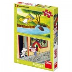 Dino-381582 2 Puzzles - Fairy Tales