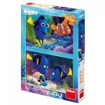 Dino-386143 2 Puzzles - Finding Dory