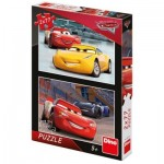 Dino-386150 2 Puzzles - Cars