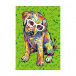 Puzzle   XXL Teile - Puppy with Glasses