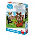 Puzzle   XXL Teile - The Little Mole
