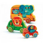 Djeco-01251 Holzpuzzle - Pachy & Co