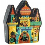 Puzzle  Djeco-07258 Schloss Fort