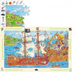 Puzzle  Djeco-07506 Die Piraten