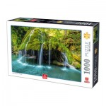 Puzzle  Deico-Games-77042 Romania Bigar Waterfall