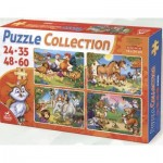 4 Puzzles - Tiere