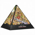 Dtoys-65964-PC01-(65964) 3D Pyramide - Ägypten: Cartoon / schwieriges Puzzle