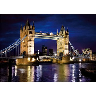 Puzzle DToys-65995-DE01 England - London: Tower Bridge