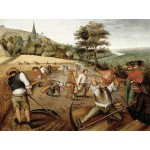Puzzle  DToys-66947-BR02-(70029) Brueghel: Sommer