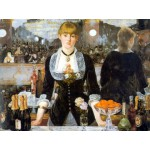 Puzzle  DToys-66961-IM01 Manet: Bar der Folies Bergères