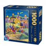 Puzzle  DToys-67371CM01 Mini-Teile - Christmas Collection: Ankunft in der Stadt