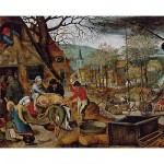 Puzzle  DToys-70012 Brueghel: Herbst