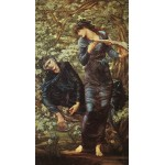 Puzzle  Dtoys-72733-BU-02 Edward Burne-Jones: The Beguiling of Merlin, 1872-1877
